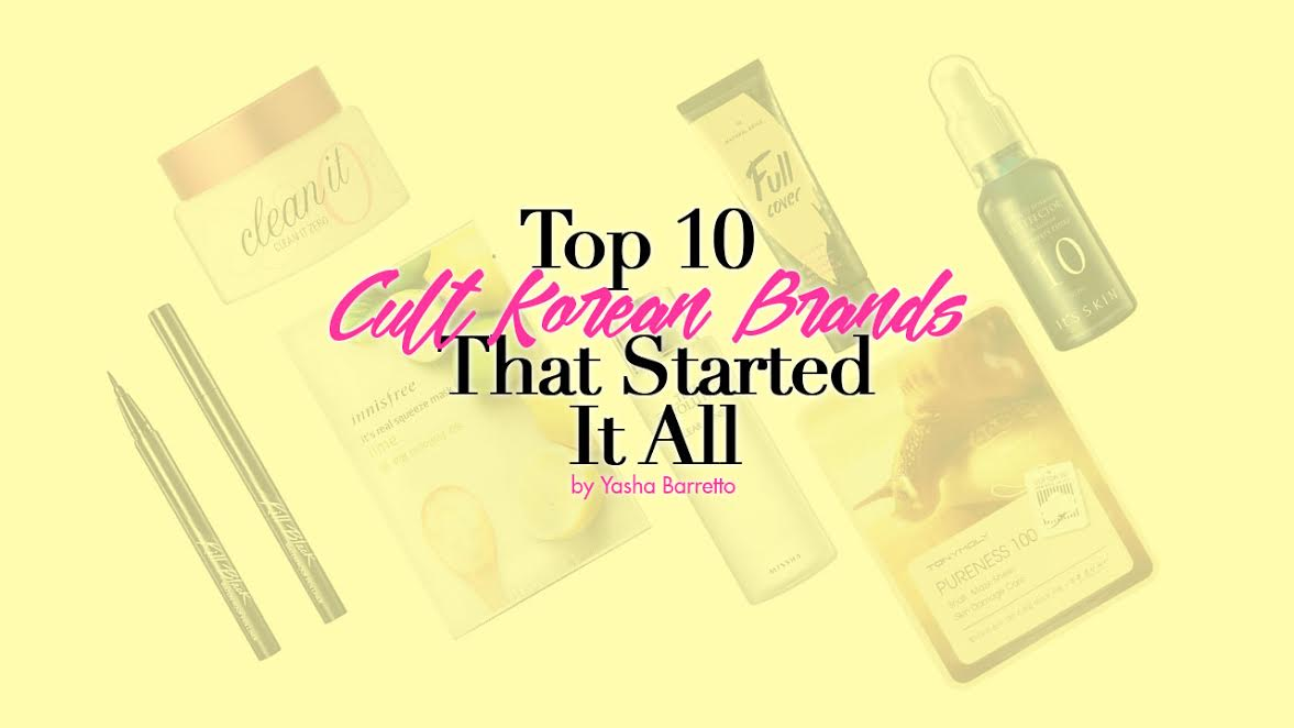 The K-Beauty Craze: Top 10 Cult Korean Brands that Started it All