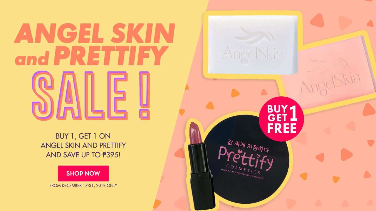 ANGEL SKIN AND PRETTIFY SALE